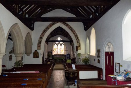 Image of the St. John the Baptist, Capel – Main Body (free) event area