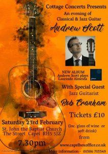 An evening of Classical & Jazz Guitar